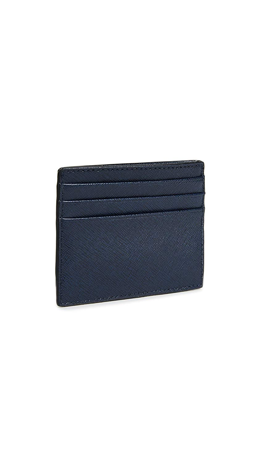 New-Michael-Kors-Men-039-s-Wallet-Navy-Blue-Saffiano-RFID-Leather-Card-Case-38-532 thumbnail 2