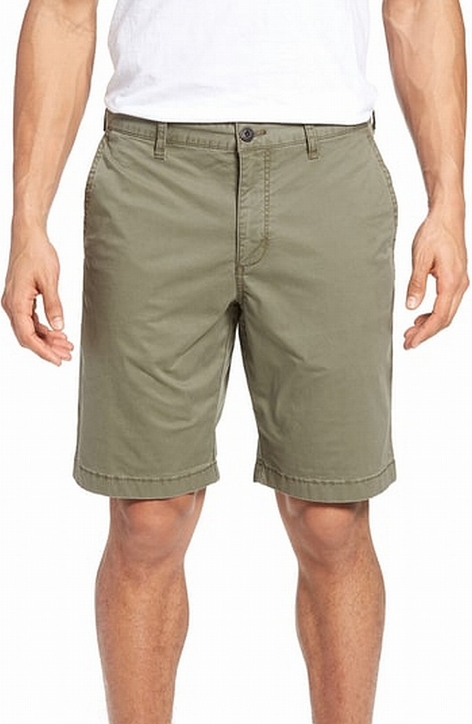 New-Tommy-Bahama-Mens-Shorts-Solid-Green-Size-30-Relax-Khakis-Chinos-79-056