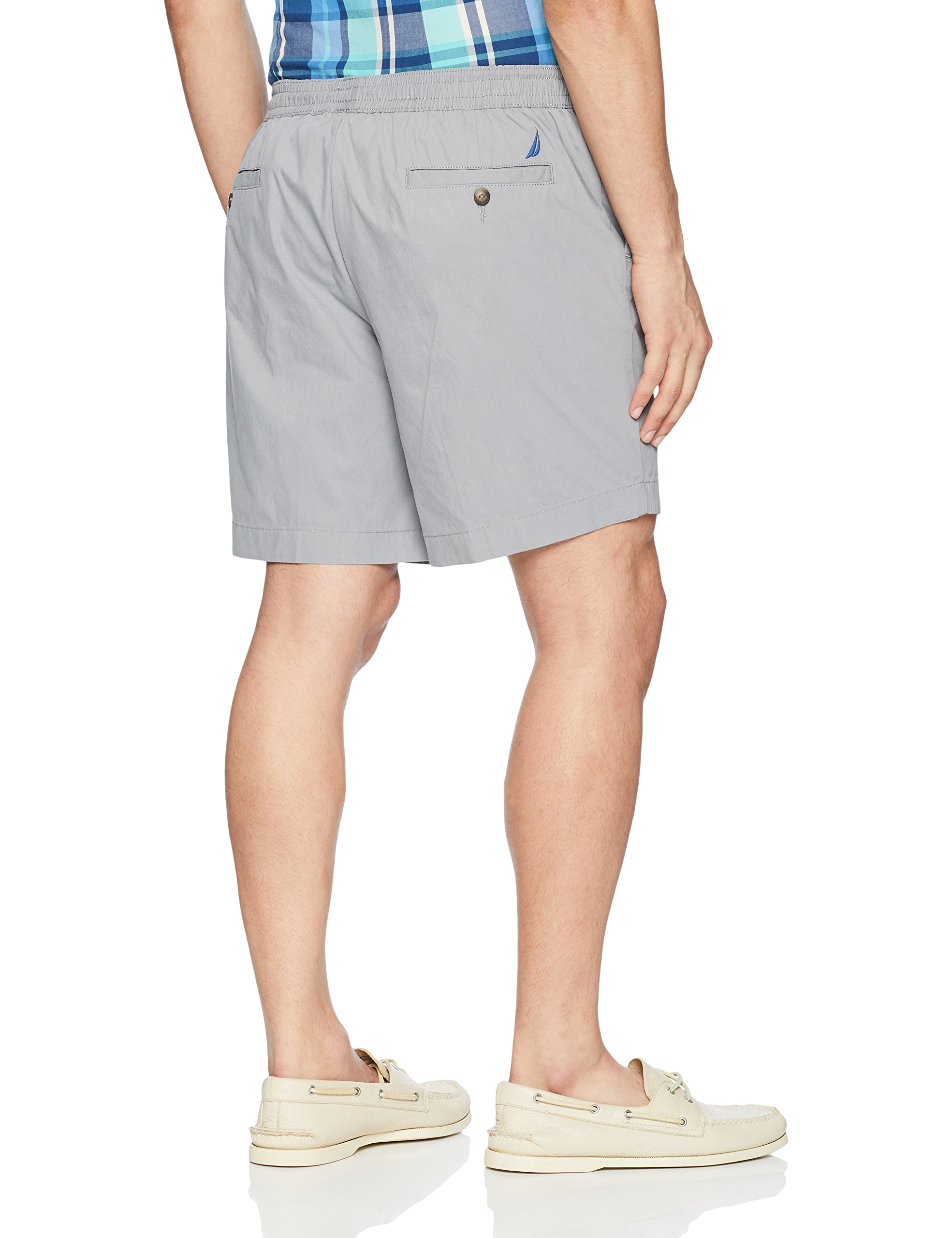New-Nautica-Mens-Shorts-Gray-Size-Large-L-Casual-Boardwalk-Drawstring-55-266 thumbnail 2