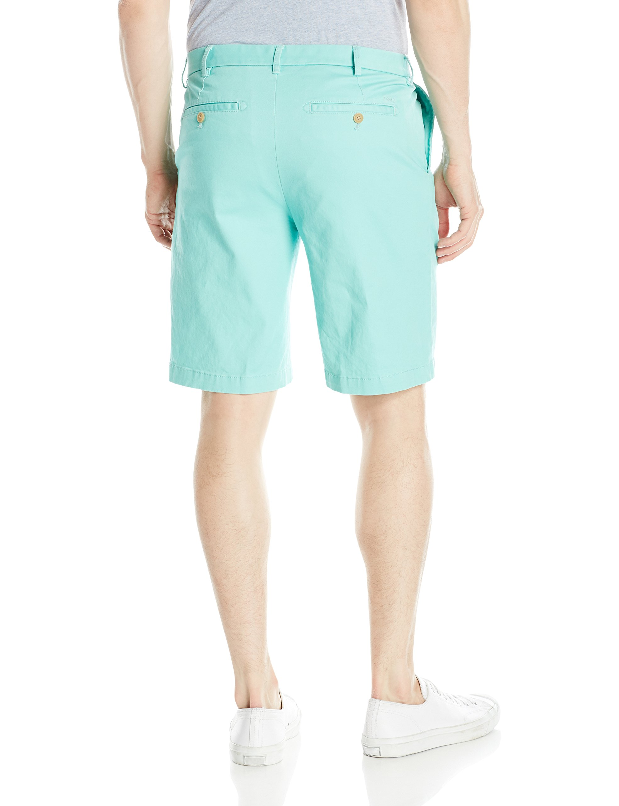 New-IZOD-Mens-Shorts-Green-Size-32-Saltwater-Stretch-Chino-Cascade-Flat-55-311 thumbnail 2