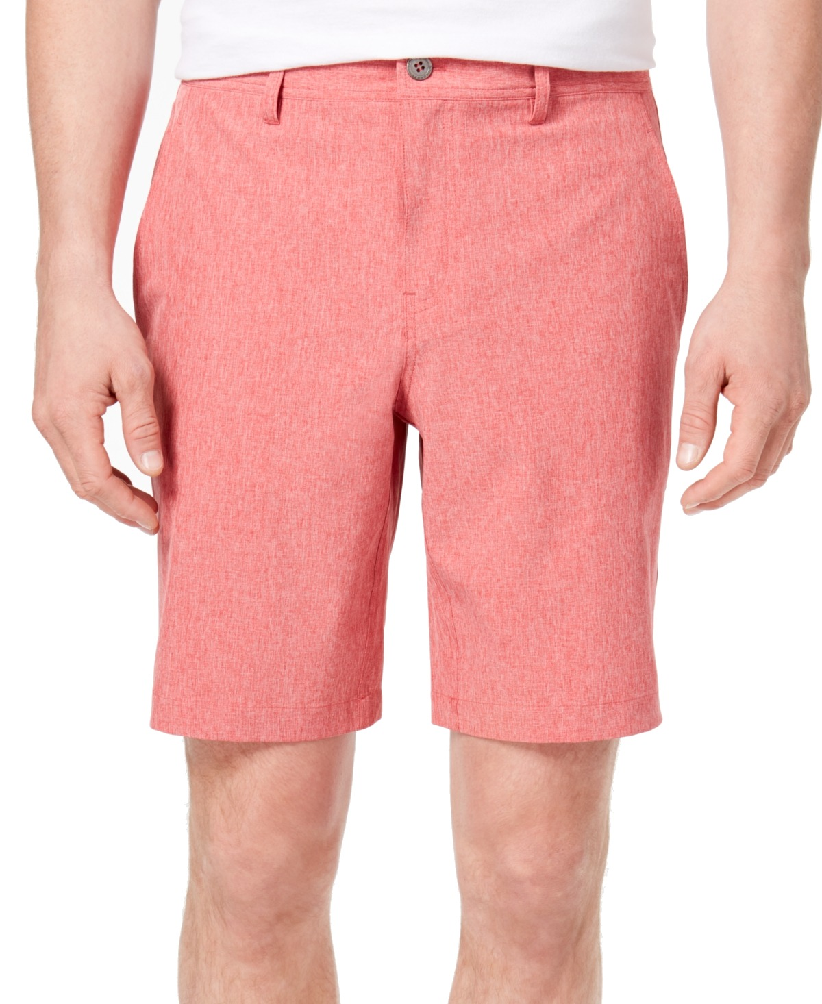 New-32-Degrees-Mens-Shorts-Solid-Bright-Red-Size-38-Stretch-Performance-39-313
