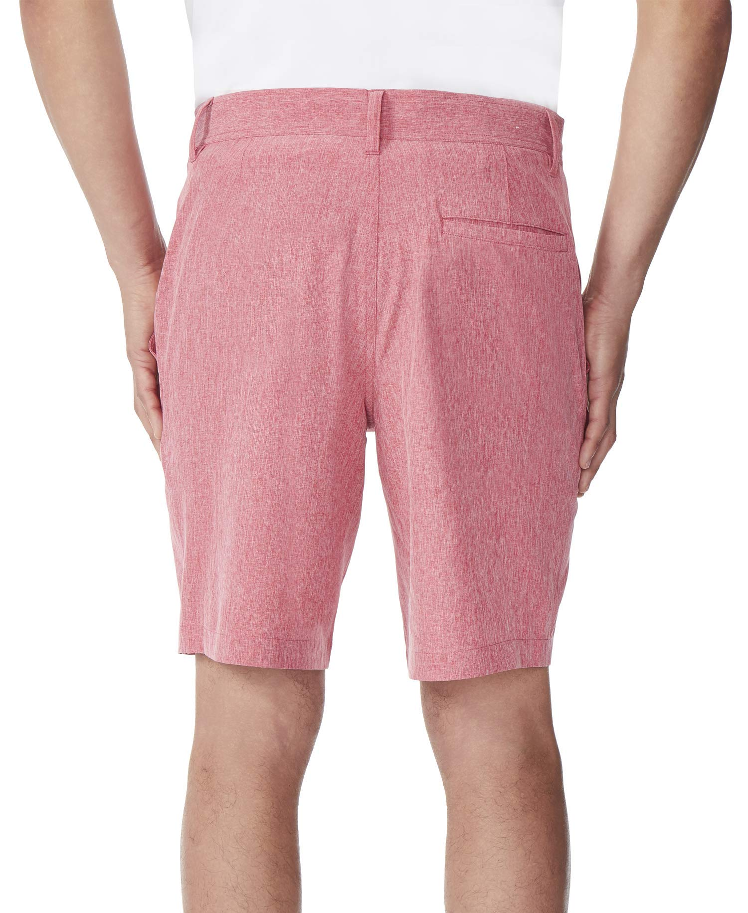 New-32-Degrees-Mens-Shorts-Solid-Bright-Red-Size-38-Stretch-Performance-39-313 thumbnail 3