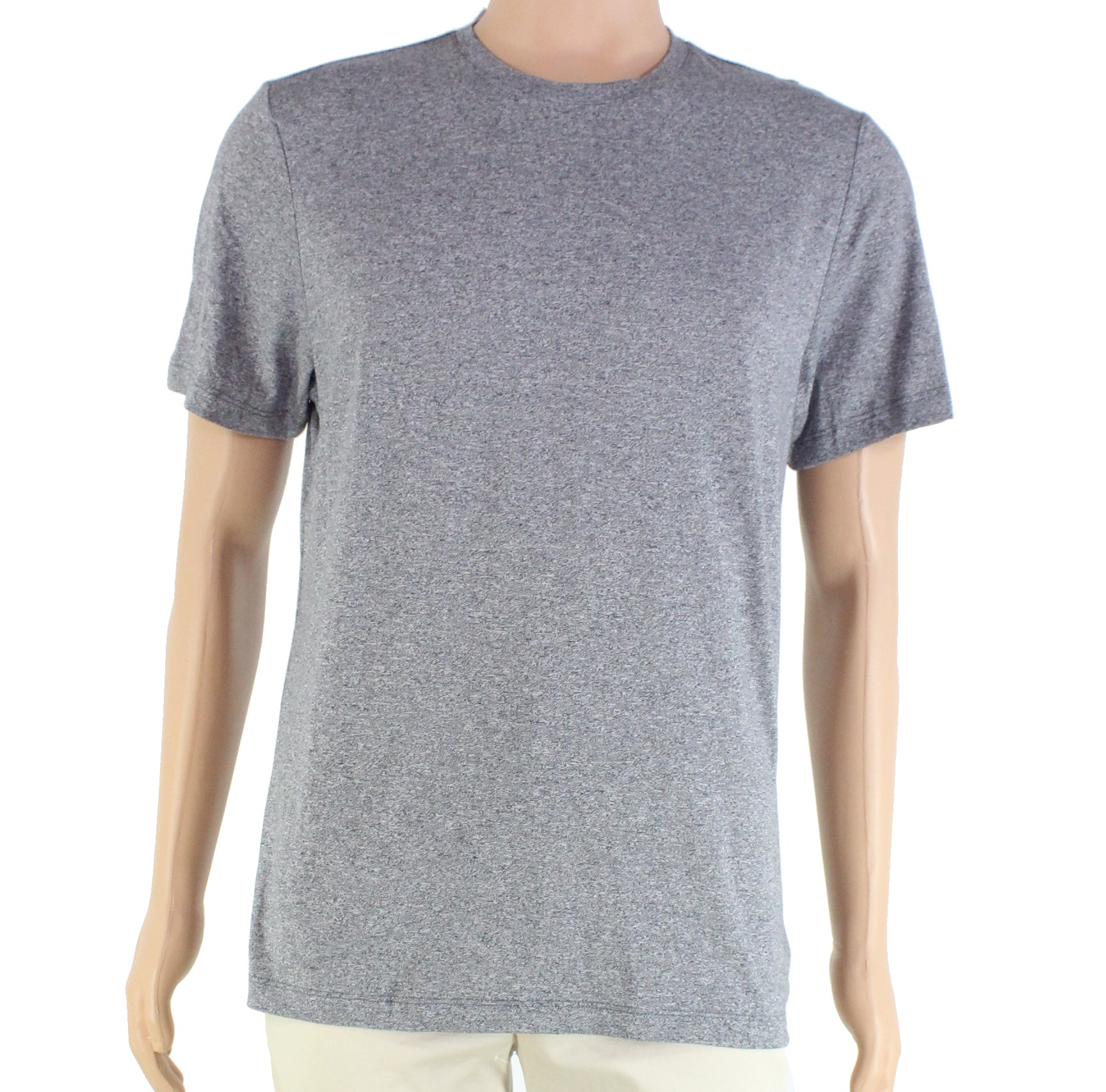 New-Alfani-Mens-T-Shirt-Gray-Size-Medium-M-Core-Crewneck-Stretch-Tee-29-205 thumbnail 1