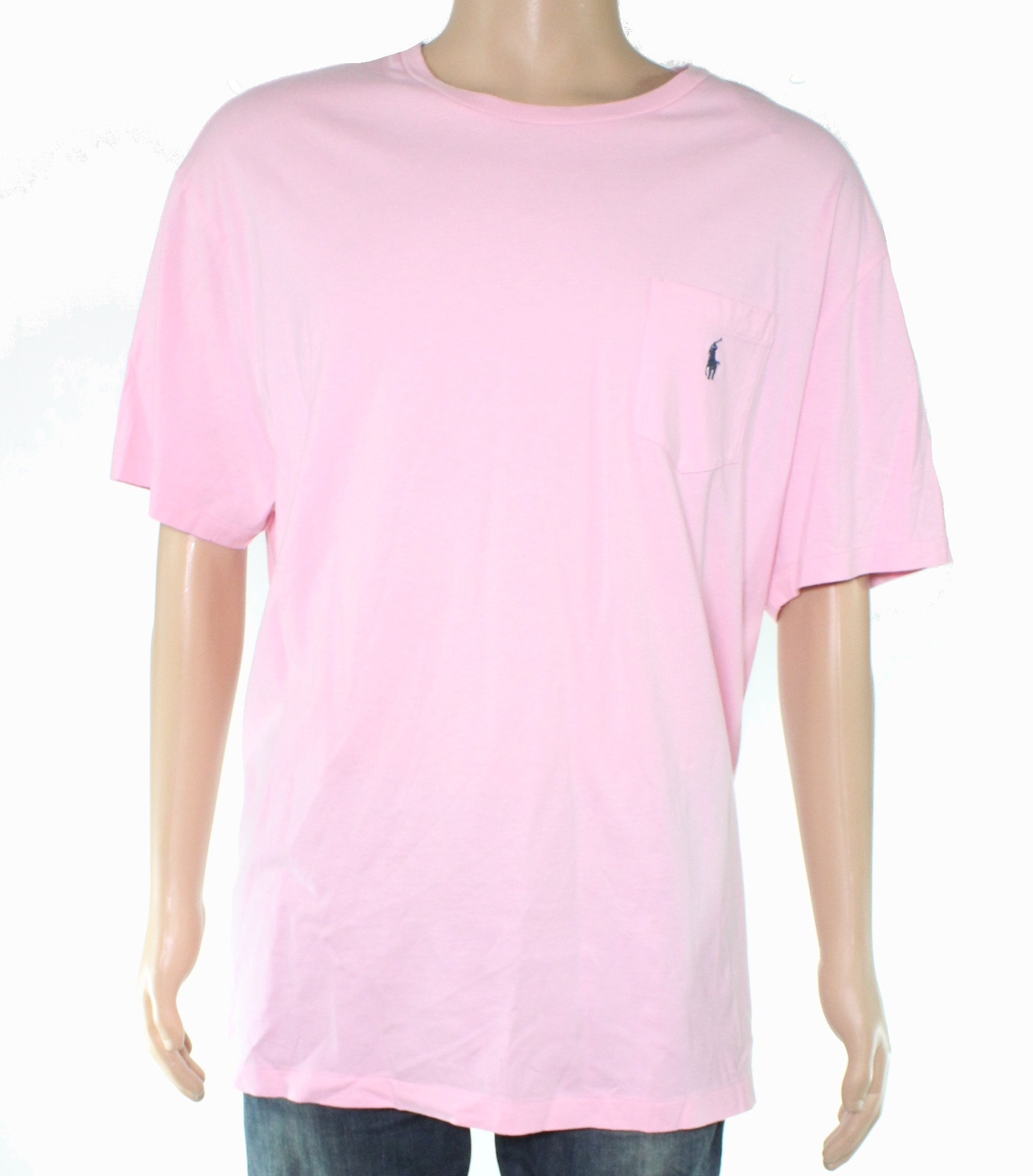 New-Polo-Ralph-Lauren-Mens-T-Shirt-Pink-Size-Large-L-Tee-Classic-Fit-39-210