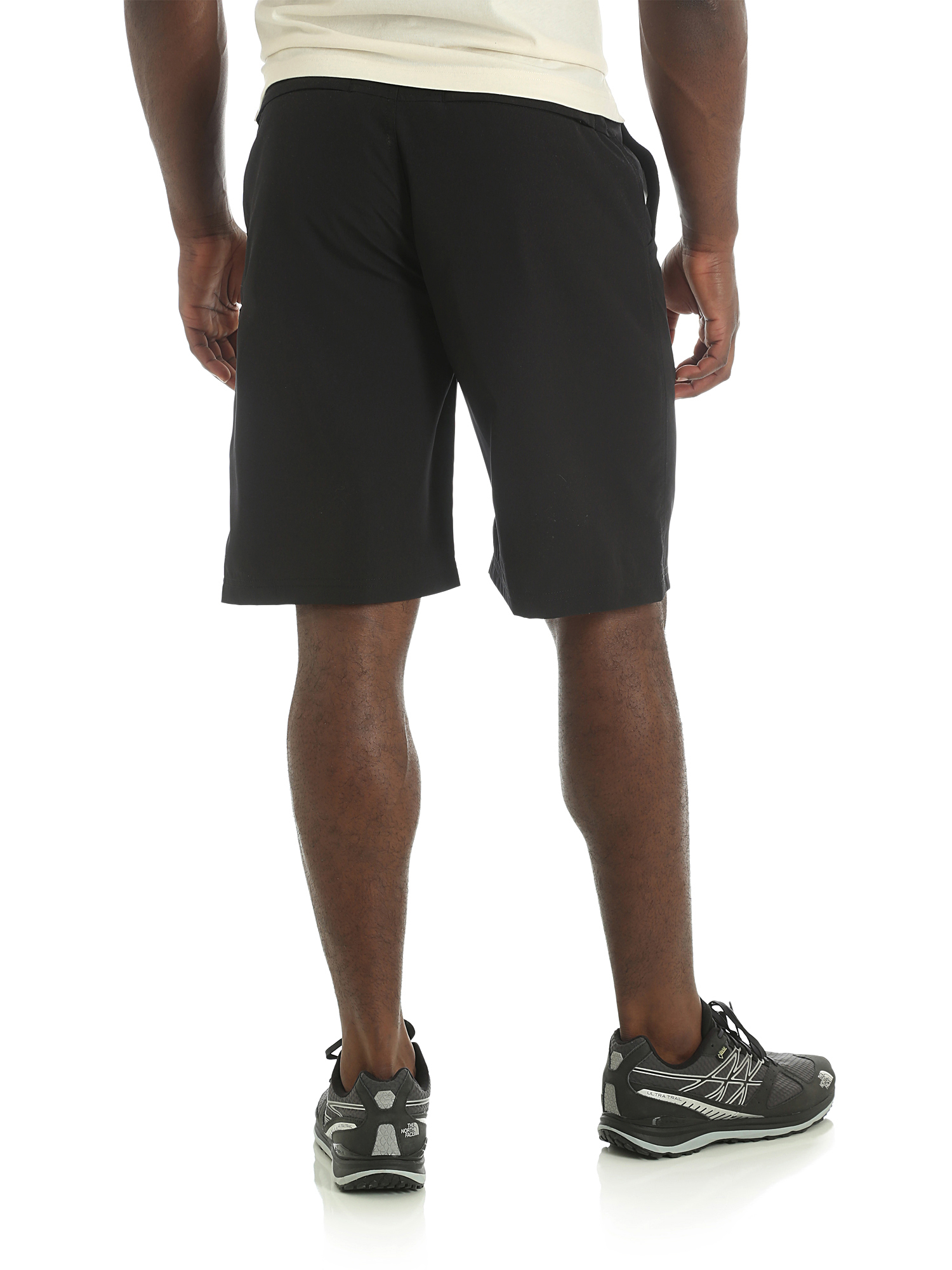 Wrangler-NEW-Solid-Men-039-s-Outdoor-Performance-Flex-Side-Elastic-Utility-Shorts thumbnail 3