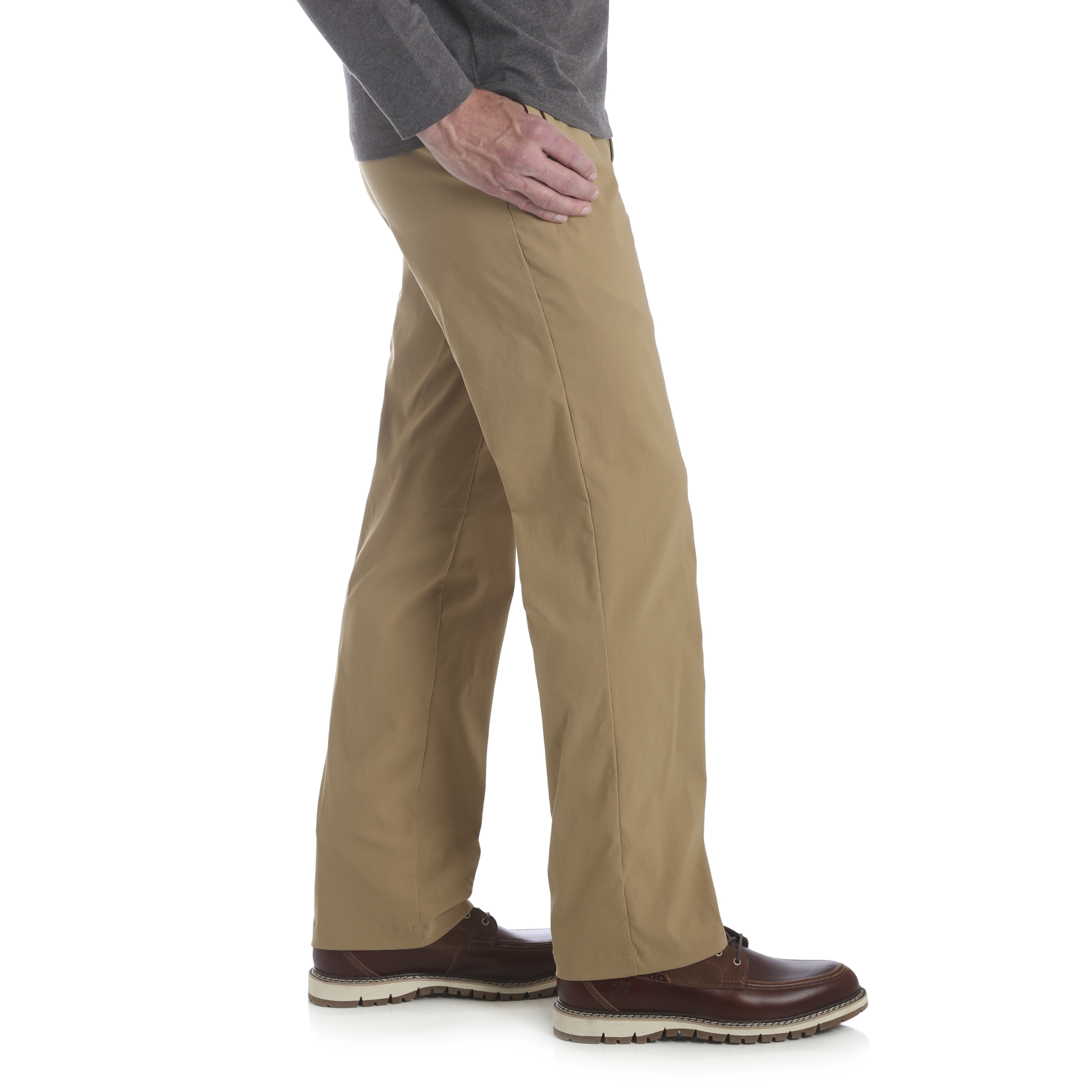 Wrangler-NEW-Solid-Men-039-s-Performance-Series-Outdoor-Comfort-Straight-Leg-Pants thumbnail 5