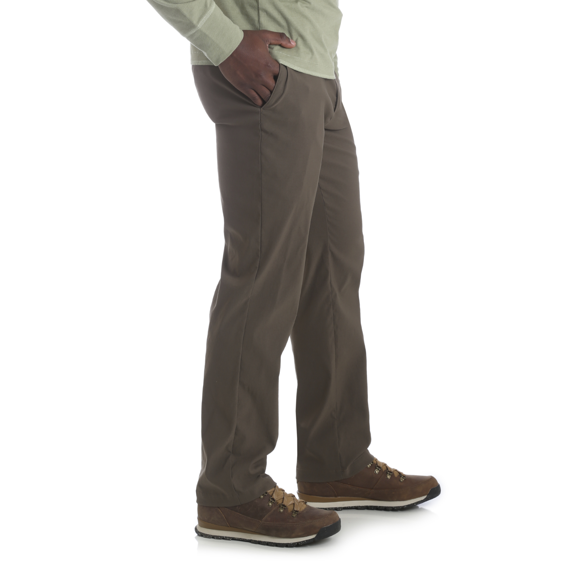 Wrangler-Neuf-Solide-Homme-Performance-Series-Outdoor-Confort-Coupe-Droite-Pantalon miniature 10