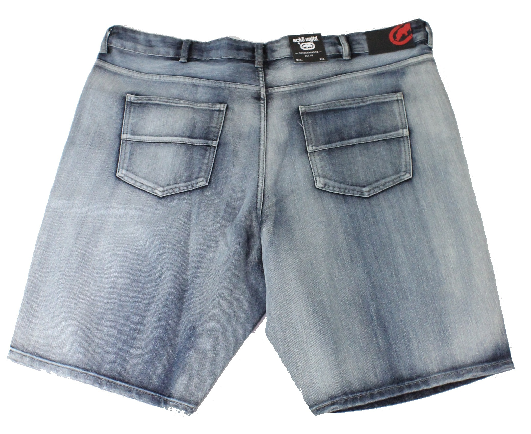 New-Ecko-Unltd-Mens-Shorts-Dark-Wash-Blue-Size-44-Denim-759-Relaxed-Fit-48-213 thumbnail 2