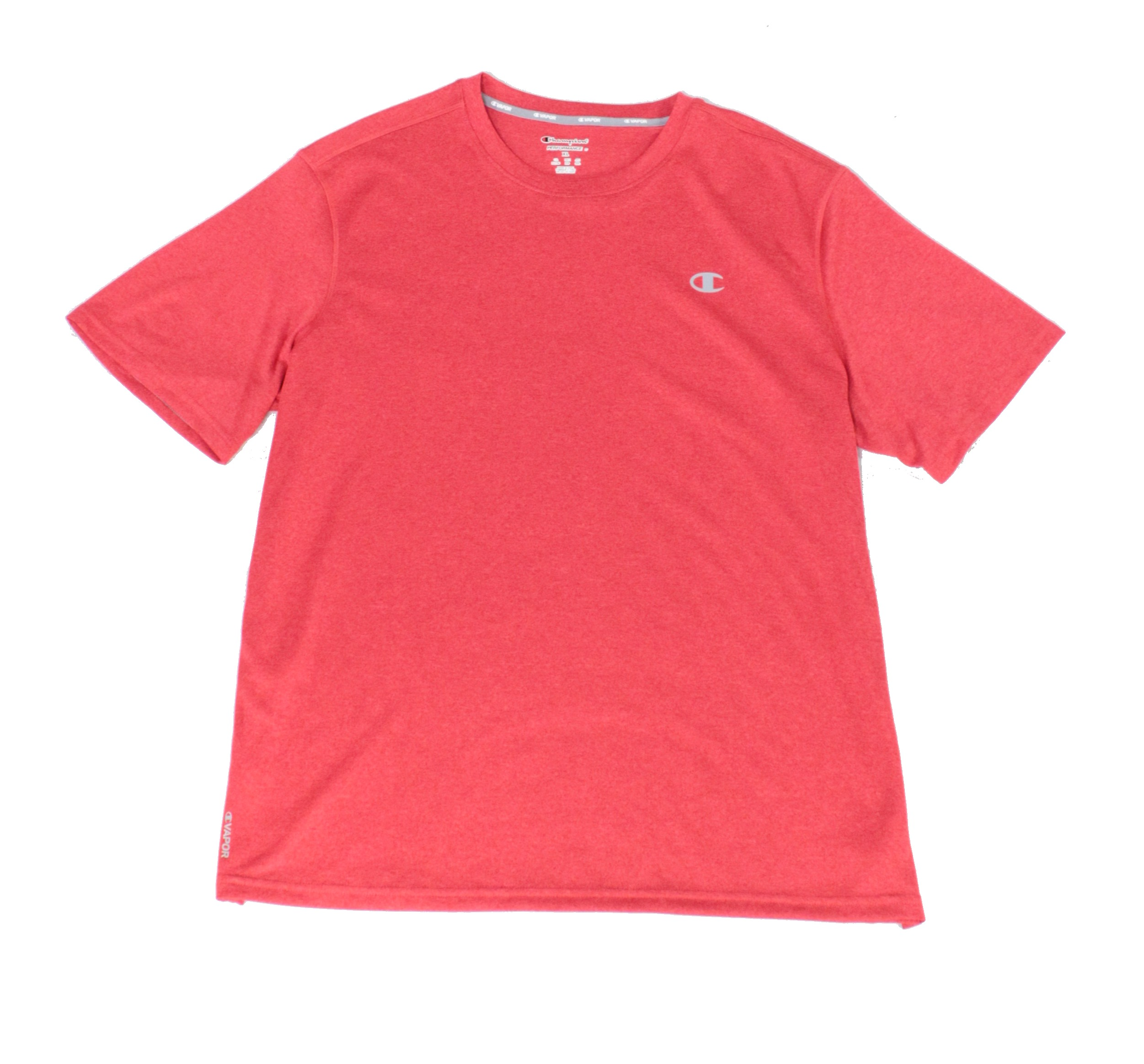 New-Champion-Mens-T-Shirt-Red-Size-XL-Performance-Stretch-Crewneck-Tee-25-111