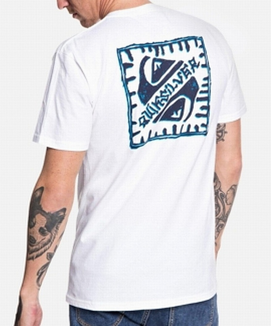 New-Quiksilver-Mens-T-Shirt-White-Size-XL-Saved-by-the-Swell-Tee-Crewneck-197 thumbnail 2