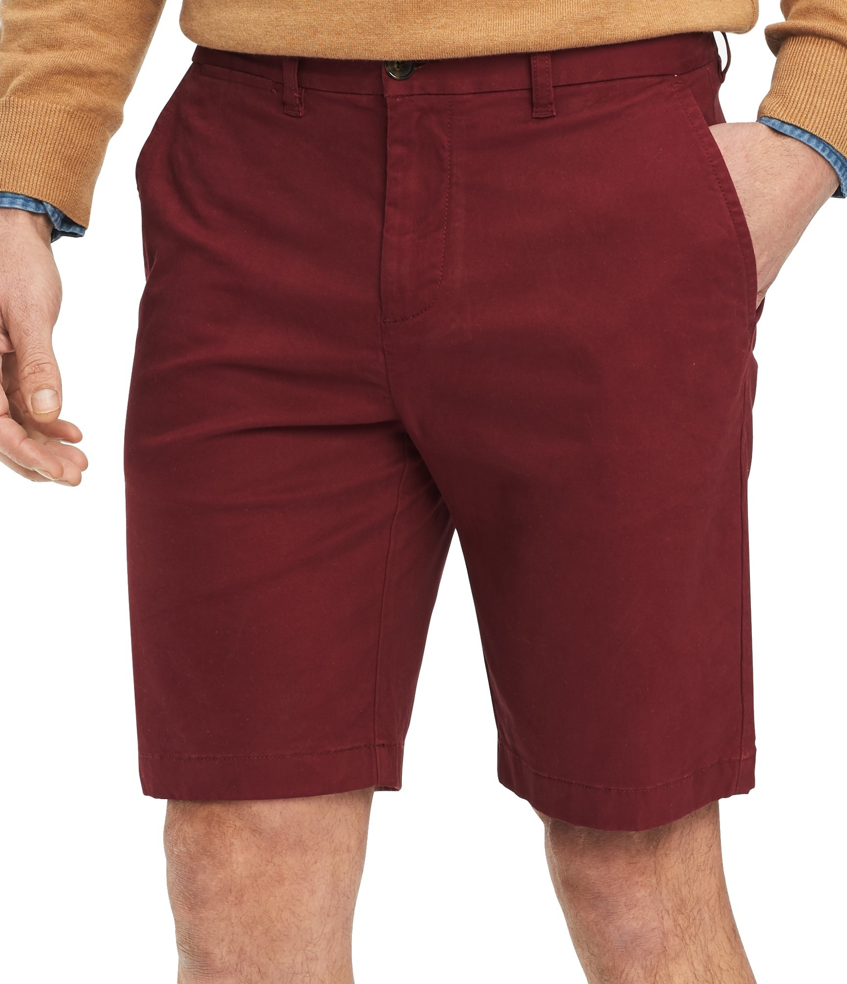 New-Tommy-Hilfiger-Mens-Shorts-Solid-Red-Size-30-The-Flex-Khakis-Chinos-49-145