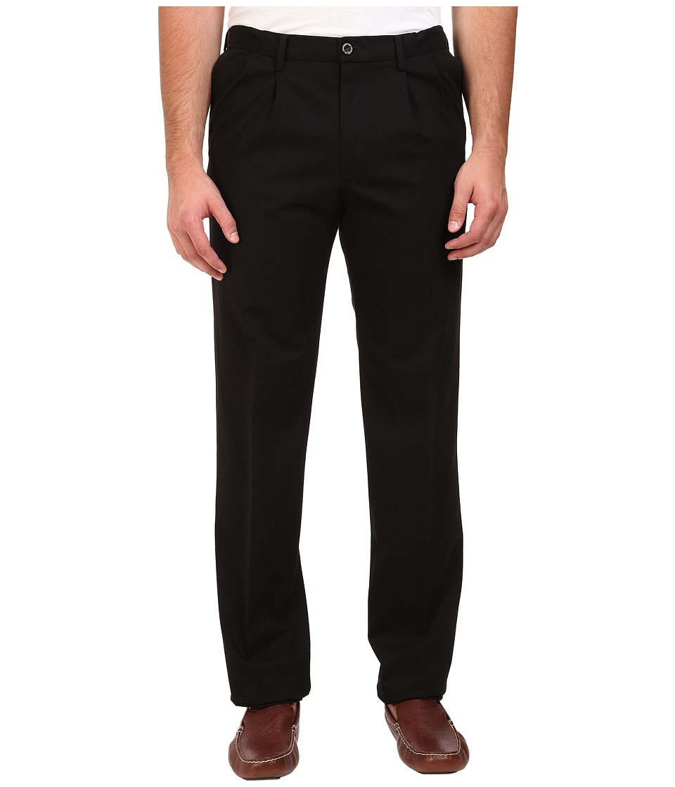 Dockers-Mens-Black-Size-48X29-Pleated-Khakis-Chinos-Stretch-Pants