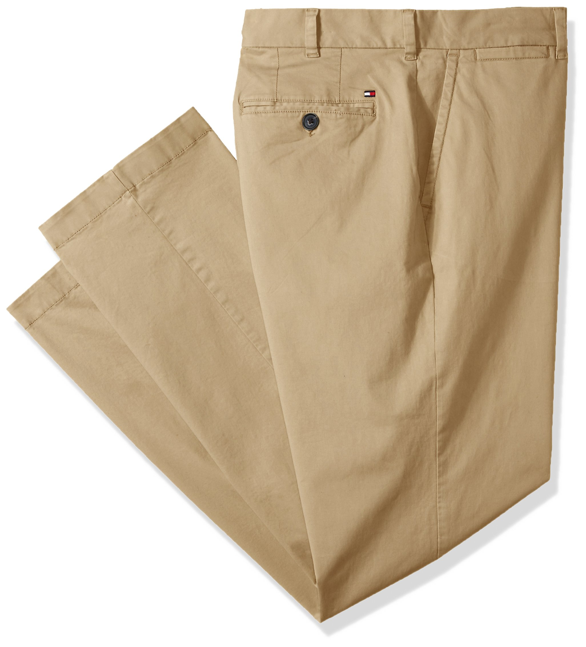 Tommy-Hilfiger-Mens-Beige-Size-56X32-Classic-Fit-Chinos-Stretch-Pants